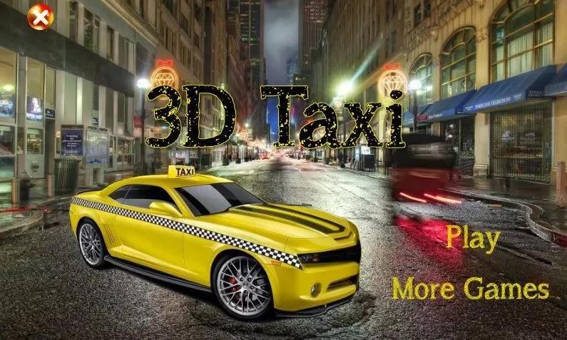 صورة من لعبة التاكسي للاندرويد 3D Taxi