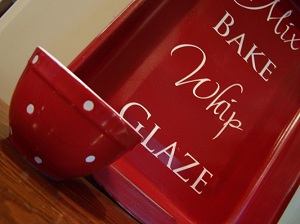Old Bakeware Transformed Into Kitchen Art