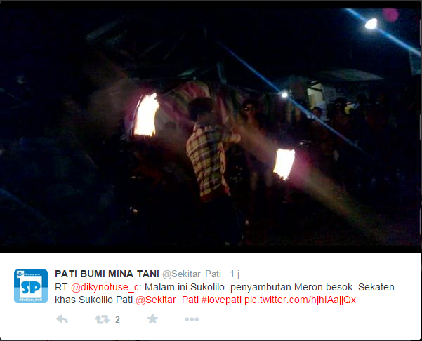 Meron Sukolilo Lestarikan Budaya Indonesia