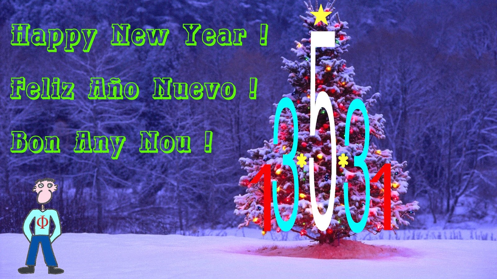 I wish you a Happy New Year 2015.
