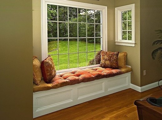 David dangerous bay window seat and storage ideas for Sitting window design