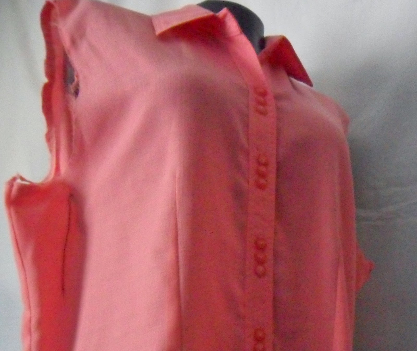 Como transformar un abrigo en blusa