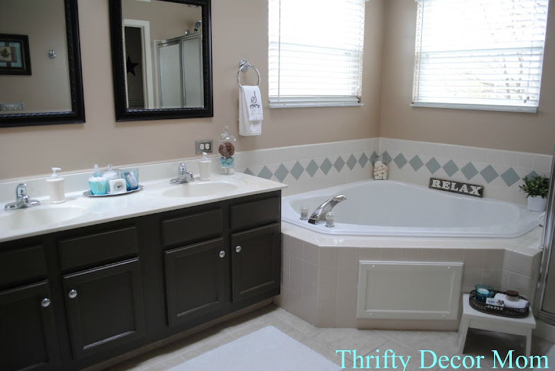 dark cabinets new master bath pinterest