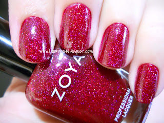 LuminousLacquer.com - Zoya Blaze