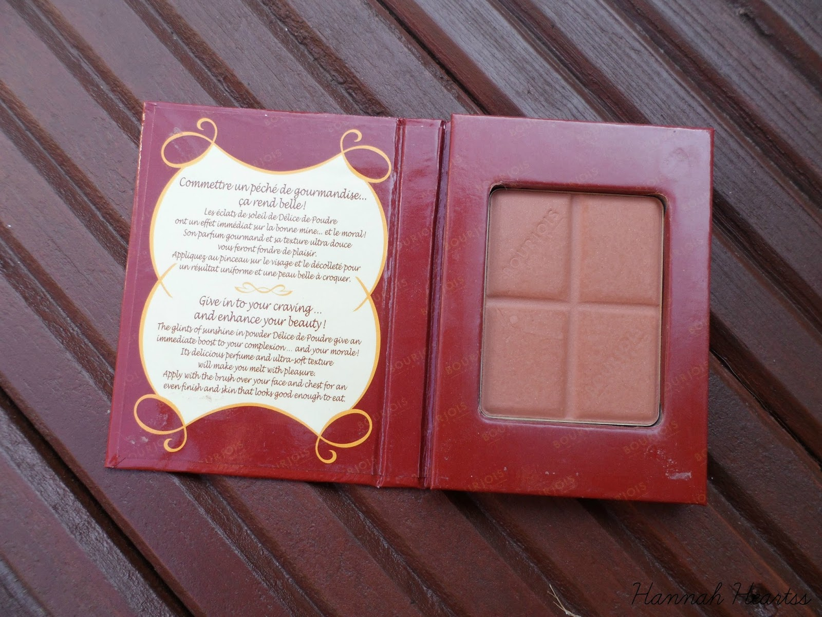 Bourjois Choclate Bronzing Powder