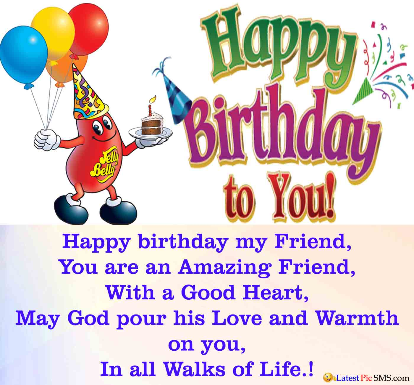 Birthday Wishes For A Friend On Facebook