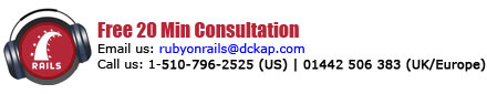 DCKAP Ruby on Rails Consultation