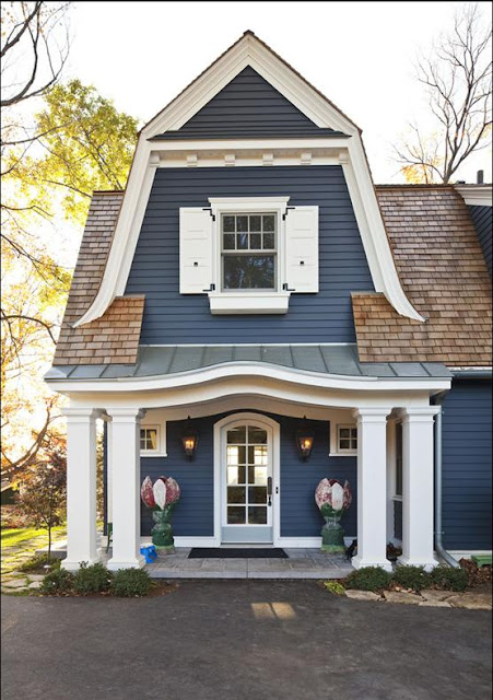 Delorme designs gambrel roofs for Gambrel house designs