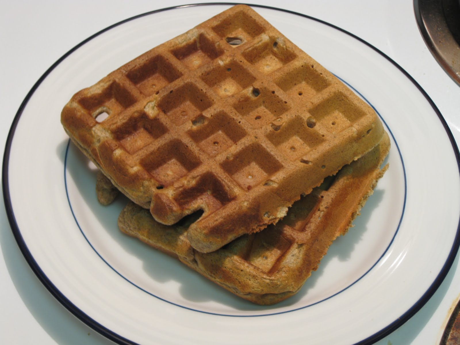 In Search of the Finer Things: Apple Cinnamon Whole Grain Waffles