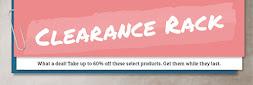 Clearence Rack / Ausverkaufsecke / tolle Schnäppchen bis zu 60% Rabatt ! >>> ab  13.09.16