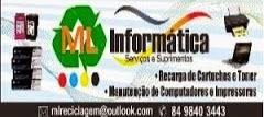 MANUTENÇÃO EM COMPUTADORES,IMPRESSORAS,  RECARGA DE CARTUCHOS E TONER