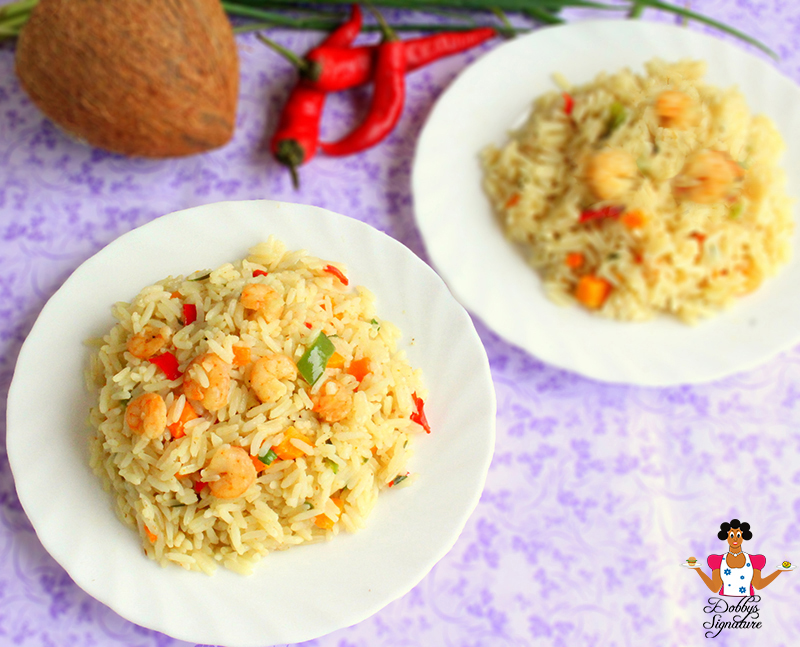 how to make coconut rice