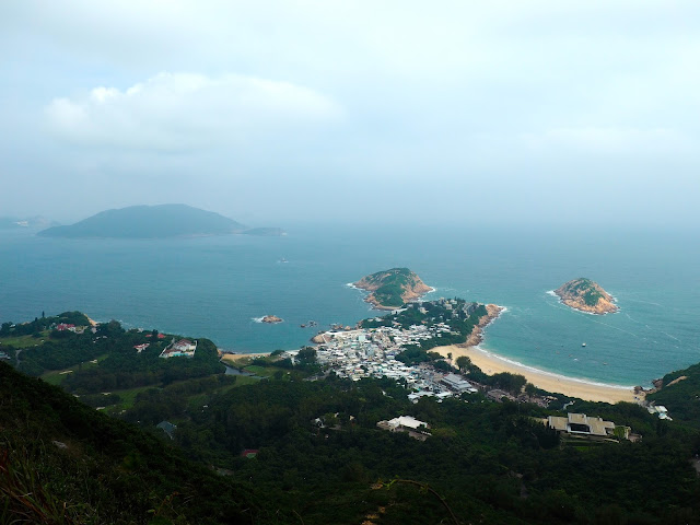 View of Shek O from Dragon's Back, Hong Kong Island