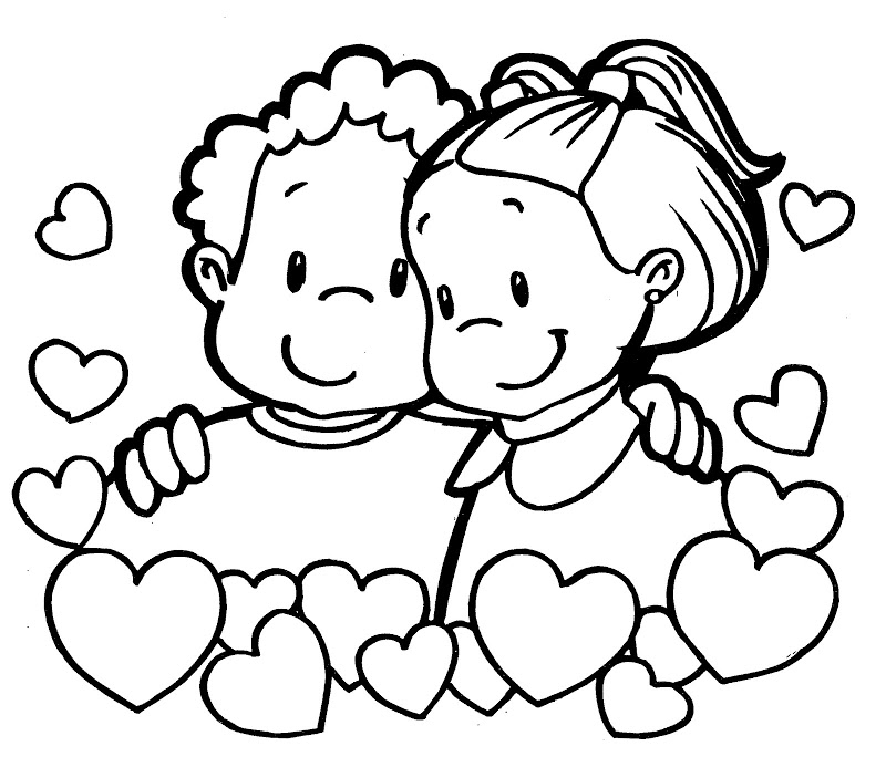 14 De Febrero D 237 A De San Valent 237 N Dibujos Para Colorear