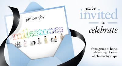 Philosophy, Philosophy Milestones, Philosophy QVC