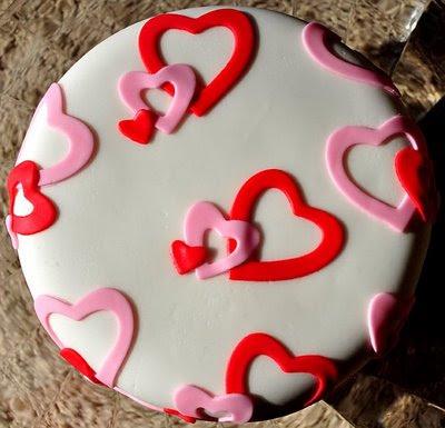 Heart Fondant Cake Images : Beki Cook s Cake Blog: Fondant 101
