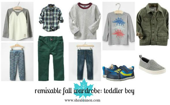 remixable fall staples for toddler boy | www.shealennon.com