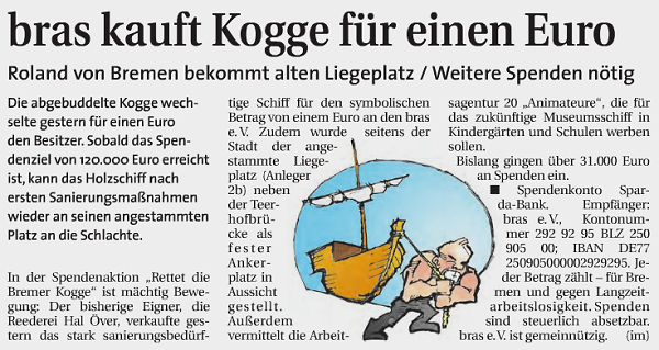 Weser Report vom 25.03.2015