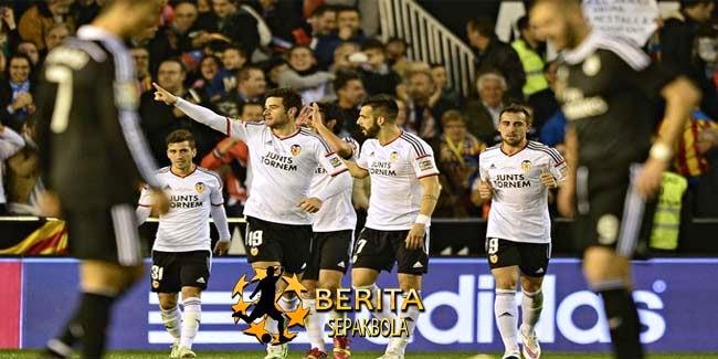 Rekor Madrid Patah di Valencia