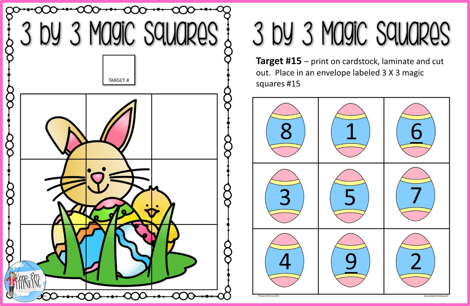 https://www.teacherspayteachers.com/Product/Easter-Beginning-Logic-Puzzles-and-Activities-1783106