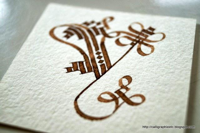 Calligraphie tatouage lettre A Pinterest - Tatouage Lettre V Calligraphie
