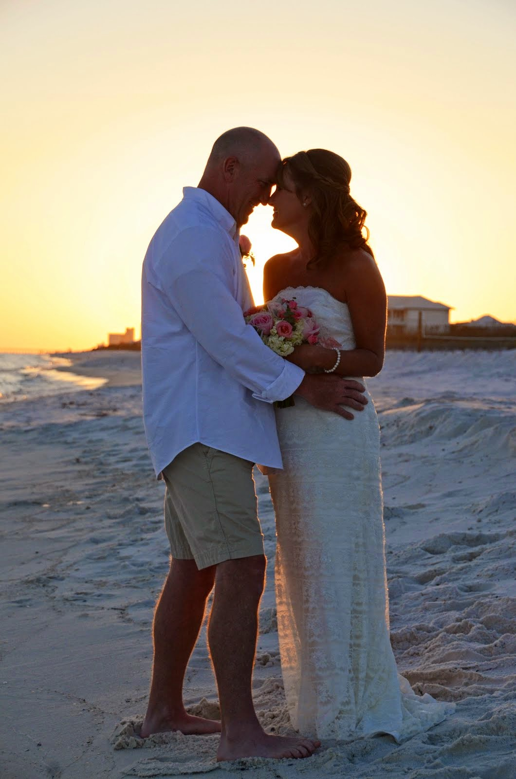 Sunset Beach Weddings Santa Rosa Beach Wedding Photography