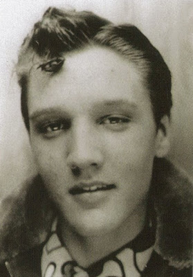 Elvis Presley at 16 years old
