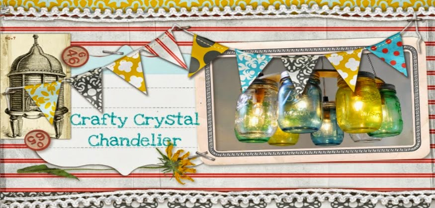 Crafty Crystal Chandelier