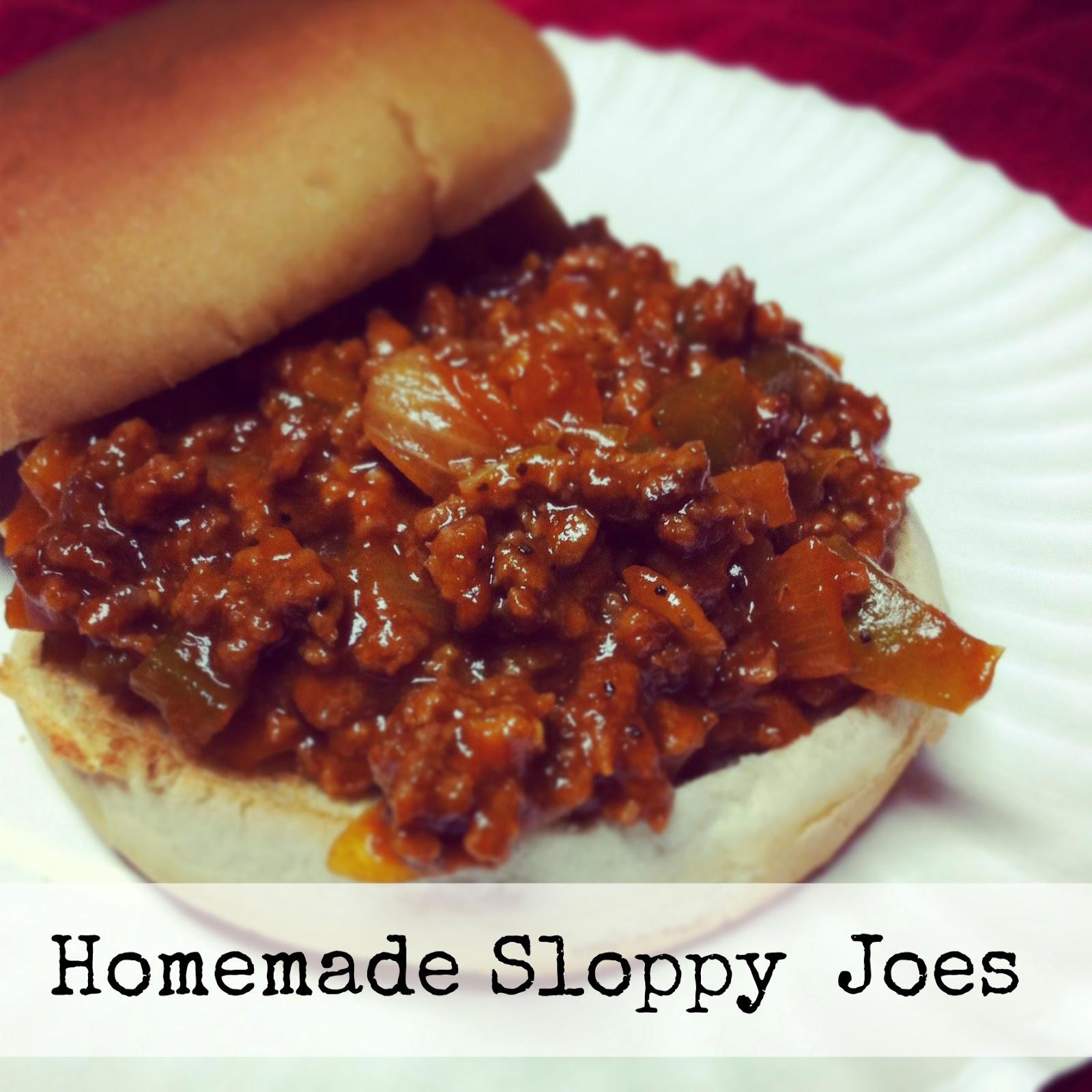 homemade sloppy joes hickory ridge studio