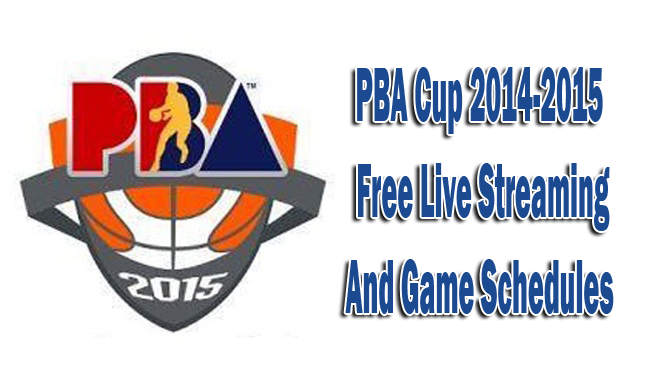 PBA Season 40 Cup 2014-2015 TV5 Free Live Streaming and Game Schedules