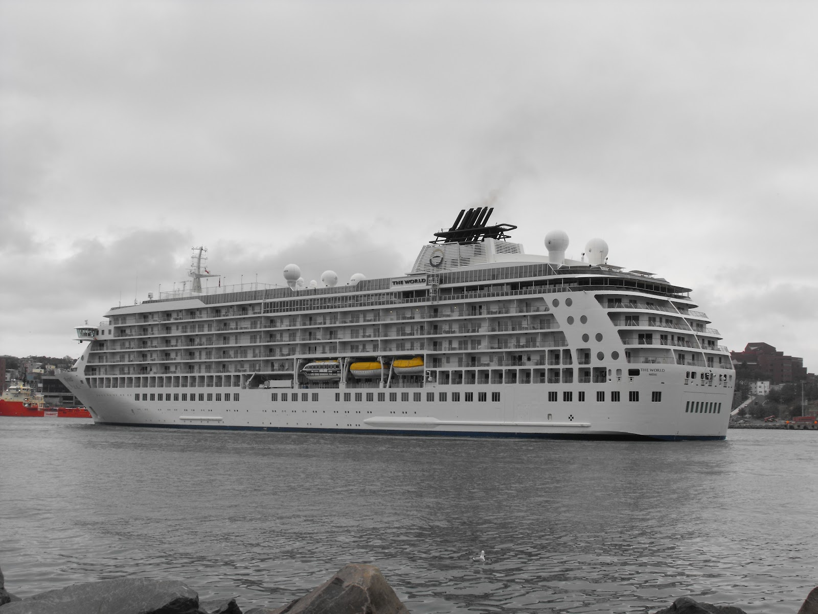 Ship Movements At St Johns And Other Ports In Newfoundland - Cruise ship movements sydney harbour