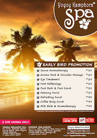 EARLY BIRD PROMOTION 2015