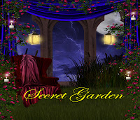 Secret garden fantasy backgrounds