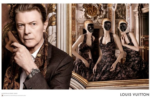 Louis Vuitton, L'Invitation au Voyage, David Bowie
