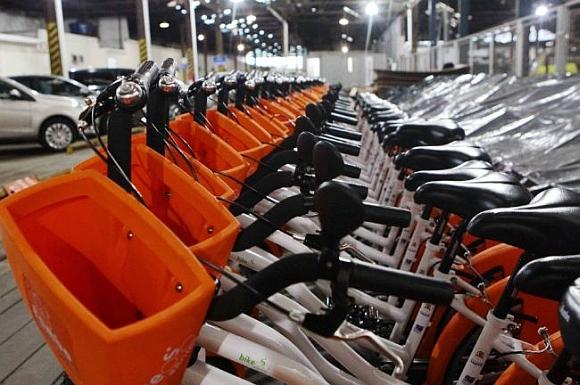Santos dá início a sistema de bicicletas públicas