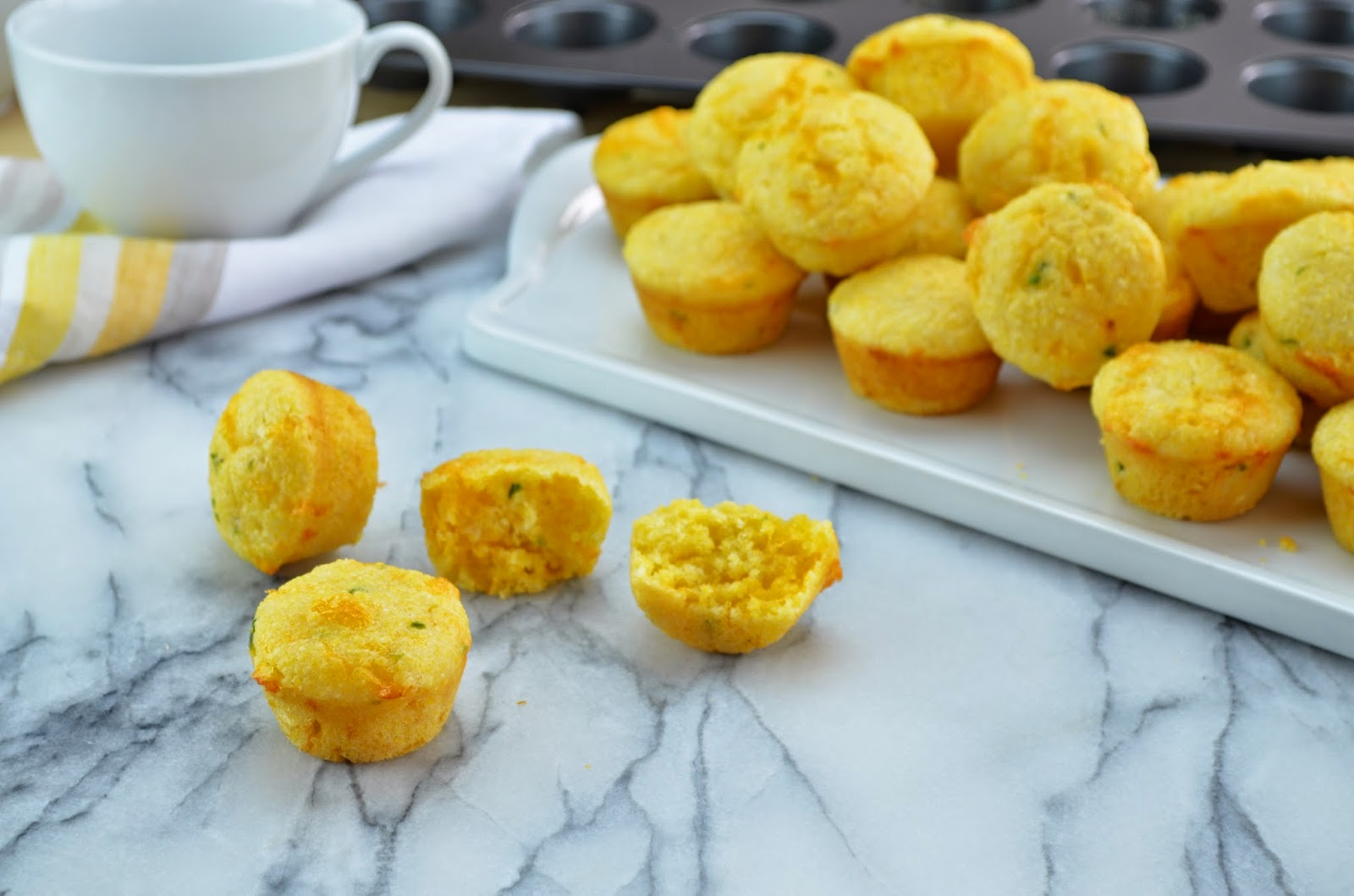 ... Cornbread Muffins with Jalapeno and Cheddar Cheese - Smell of Rosemary
