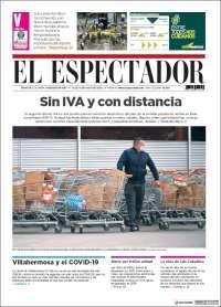 03/07/2020    COLOMBIA  UNA  PRIMERA PÁGINA DE LA PRENSA