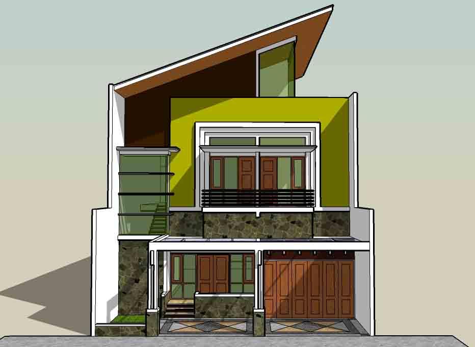 model rumah idaman sederhana
