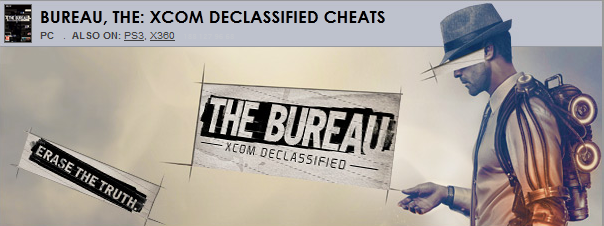 Bureau the xcom declassified trainer cheat hack hacks cheats trainers - The bureau xcom declassified download ...