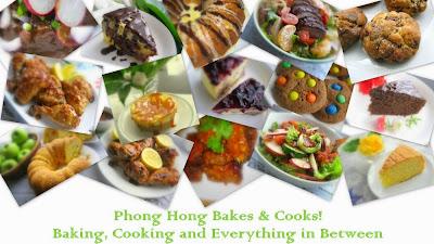 Phong Hong Bakes and Cooks!