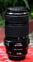 harga bekas Lensa Canon 70-300 IS USM