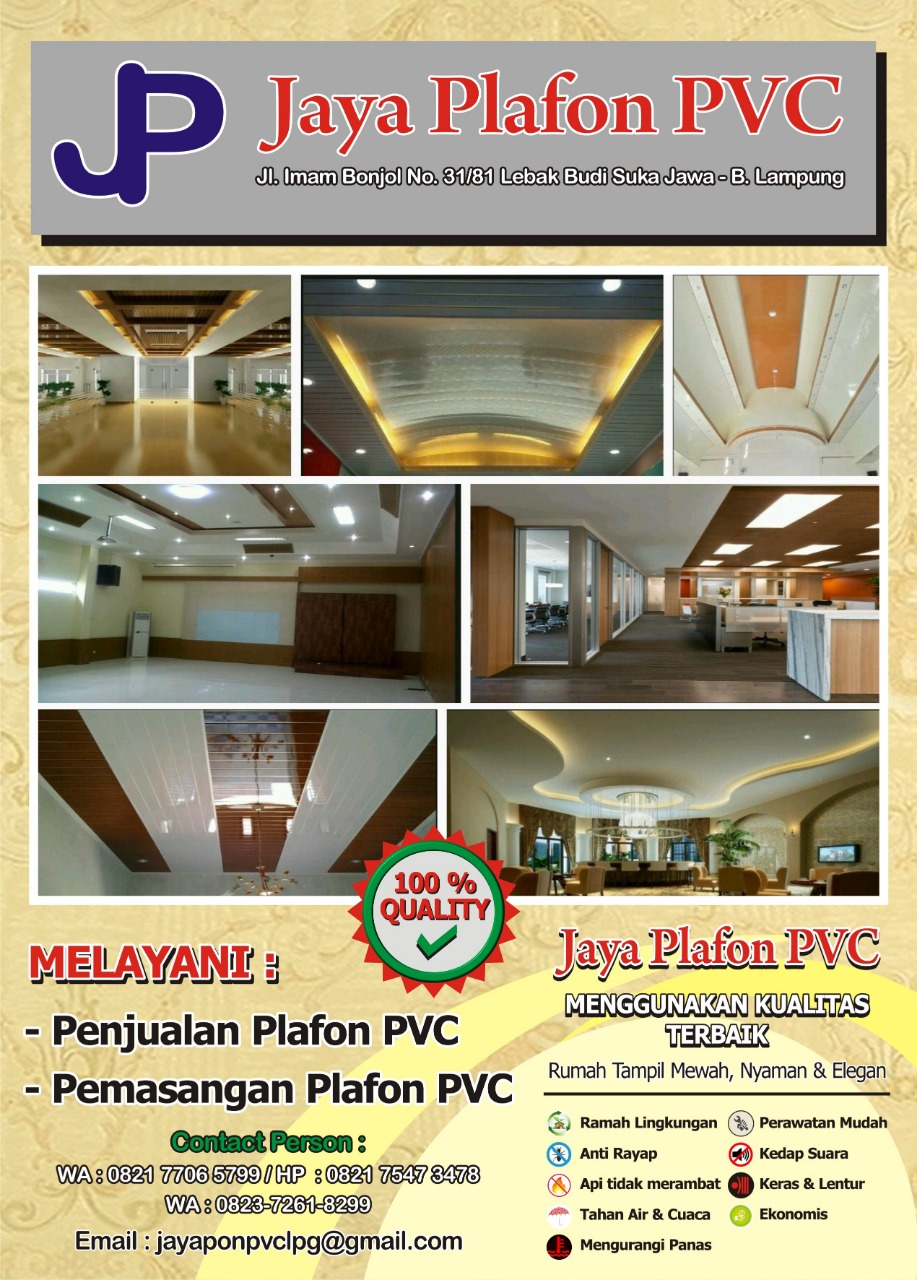 Jaya Plafon PVC