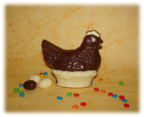 Gallina de Chocolate