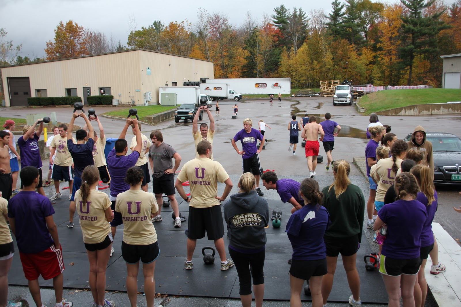 Champlain Valley Crossfit Saturday October 22nd 2011 Champlain Valley Crossfit