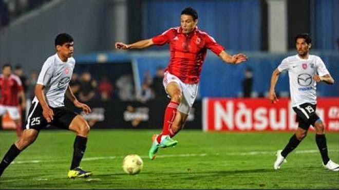 مشاهدة مباراة الأهلي وسيوي سبور بث مباشر اليوم 8/6/2014 قناة beIN Sports HD8