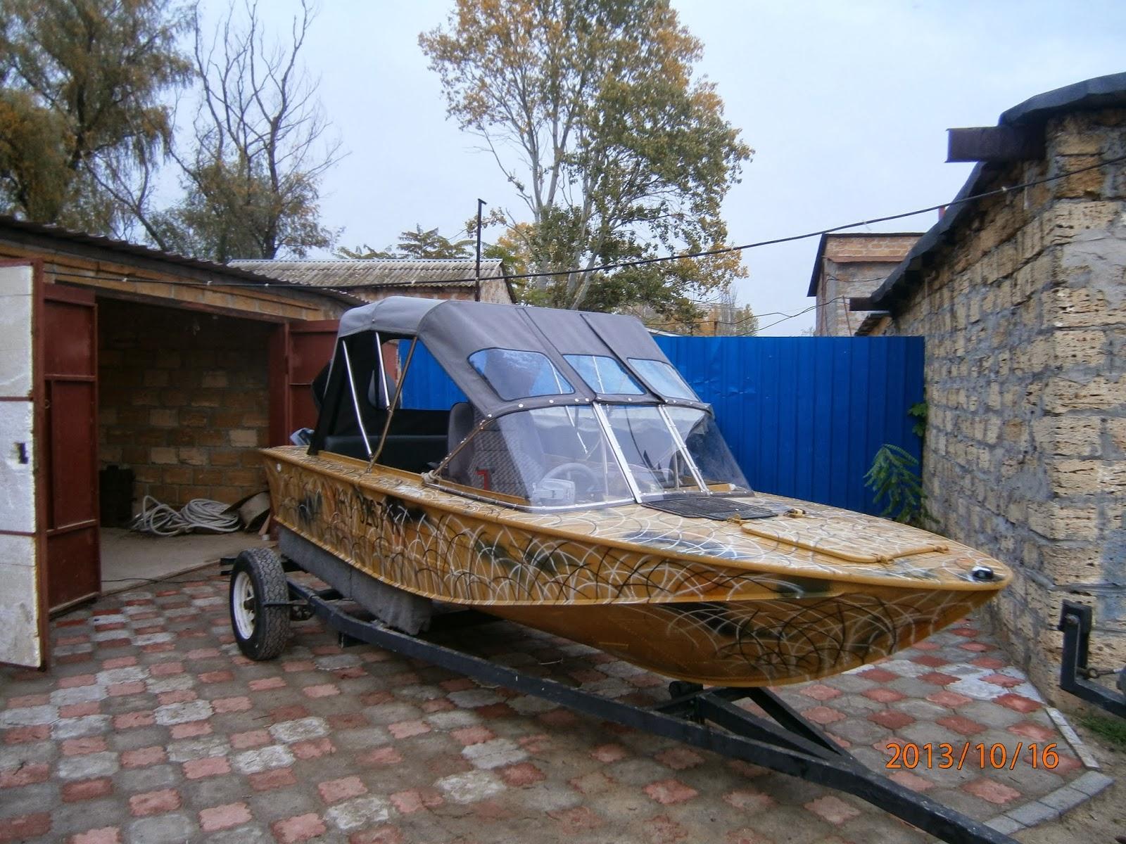 тенты с дугами на лодку днепр