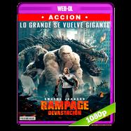 Rampage: Devastación (2018) WEB-DL 1080p Audio Dual Latino-Ingles