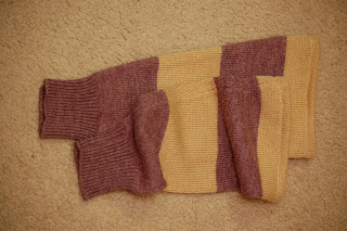 finished leg warmers / boot socks