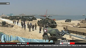 US and South Korean forces have allowed media access to their joint military drill as tension is running high with North Korea. The troops showed reporters an exercise in Pohang in the southeastern part of South Korea on Monday, April 22, 2013