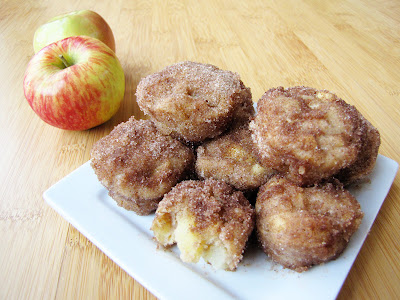 baked apple fritter muffins | Sweet Anna's